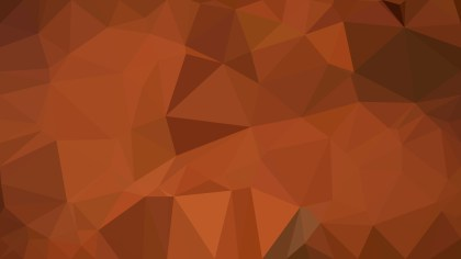 Copper Color Polygon Pattern Background Illustration