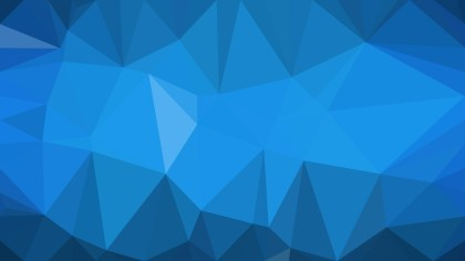 Abstract Dark Blue Polygon Background Template