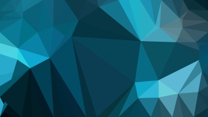Dark Blue Low Poly Background Template Design
