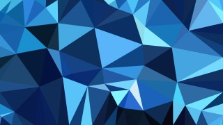 Abstract Dark Blue Low Poly Background Design Illustrator