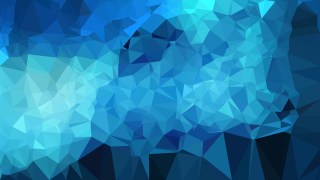Dark Blue Polygon Triangle Pattern Background