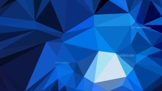 Dark Blue Polygon Pattern Abstract Background Vector Illustration