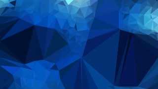 Dark Blue Low Poly Abstract Background Vector