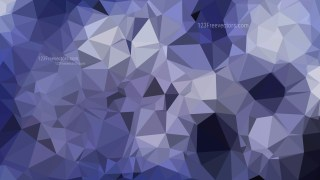 Dark Blue Polygonal Background Template Vector Graphic