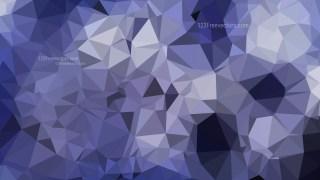 Dark Blue Polygonal Background Template Vector Graphic