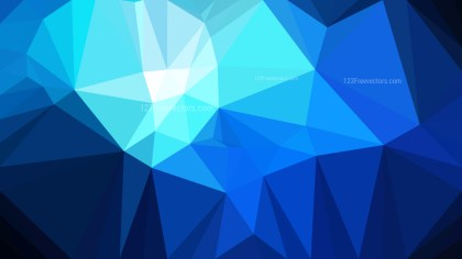 Dark Blue Polygonal Triangle Background Illustrator