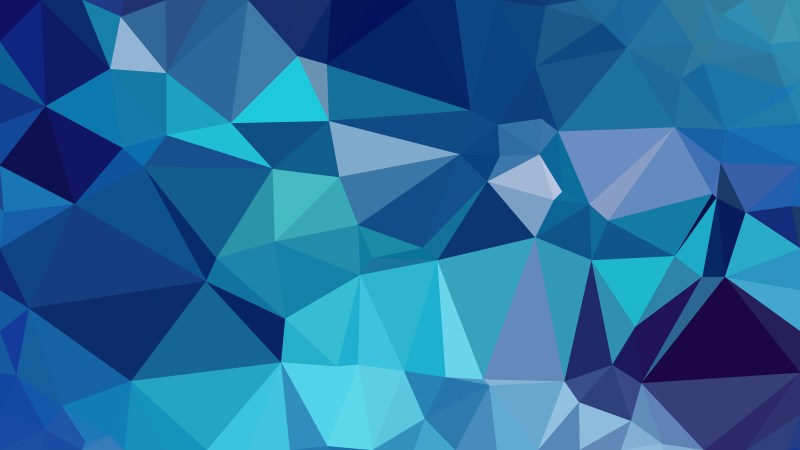 Dark Blue Polygon Background Graphic Design