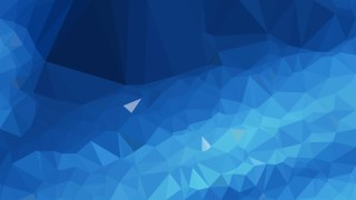 Dark Blue Low Poly Abstract Background Design Illustrator