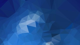 Abstract Dark Blue Polygonal Background Design
