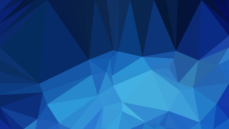 Abstract Dark Blue Polygon Pattern Background