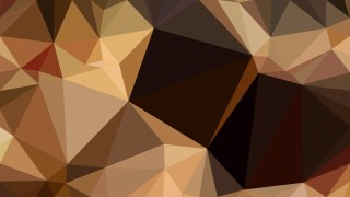 Dark Brown Low Poly Abstract Background Vector