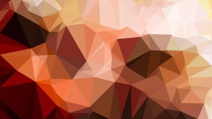 Dark Brown Polygonal Abstract Background Vector Art