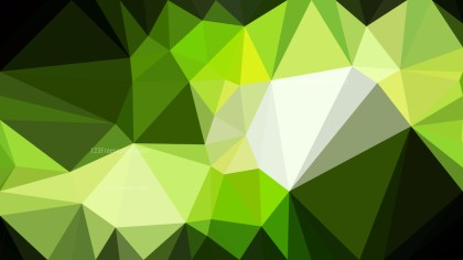 Dark Green Polygon Pattern Abstract Background Vector Image