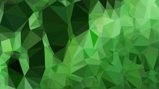 Dark Green Polygon Background Vector