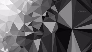 Dark Grey Low Poly Abstract Background Illustrator