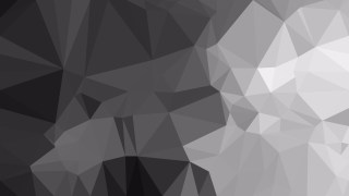 Dark Grey Low Poly Abstract Background Design Vector