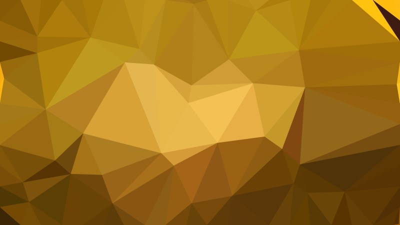 Dark Orange Polygon Pattern Background Illustration