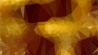Dark Orange Low Poly Abstract Background Design
