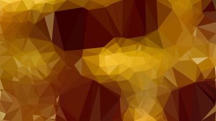 Dark Orange Low Poly Abstract Background Design