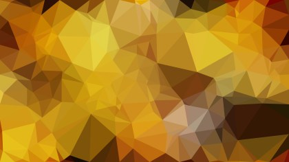 Dark Orange Triangle Geometric Background