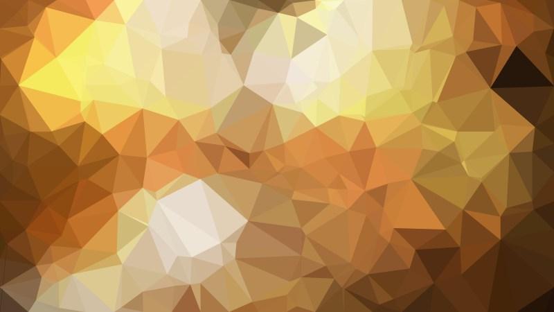 Dark Orange Triangle Geometric Background Illustration