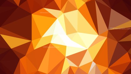 Dark Orange Low Poly Background Image