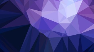 Dark Purple Geometric Polygon Background