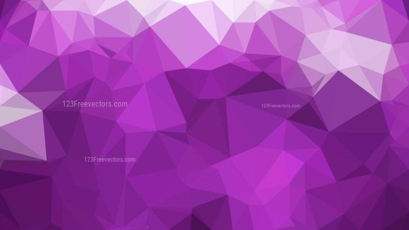 Abstract Dark Purple Polygon Triangle Background Vector Illustration