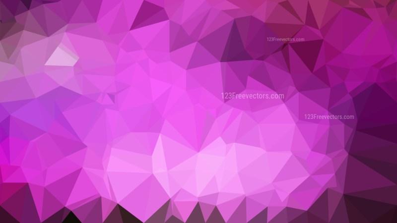 Dark Purple Triangle Geometric Background
