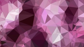 Dark Purple Polygon Background Template