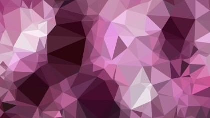 Dark Purple Polygon Background Template