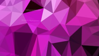 Dark Purple Polygonal Background Template