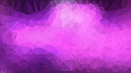 Abstract Dark Purple Polygon Background Template
