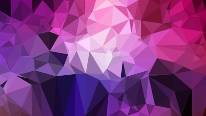 Abstract Dark Purple Low Poly Background