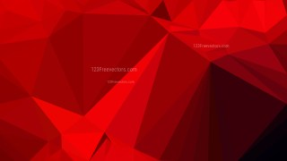 Dark Red Polygon Background