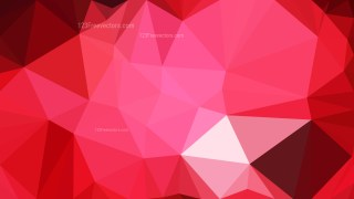 Abstract Dark Red Polygon Background Design