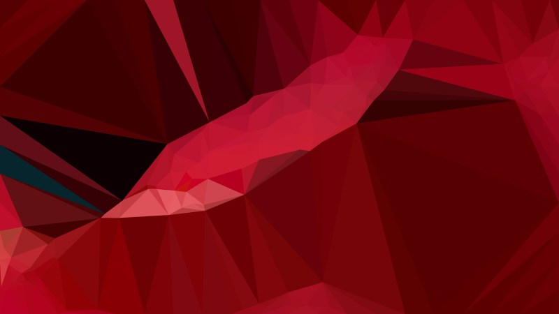 Abstract Dark Red Polygonal Background Design