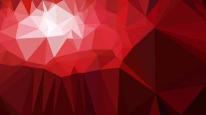 Dark Red Polygon Abstract Background Vector Graphic