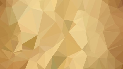 Gold Polygonal Background Template