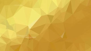 Gold Low Poly Background Template