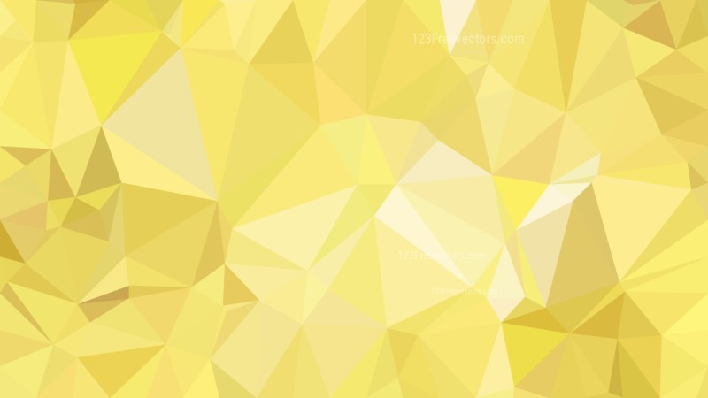 Abstract Gold Polygon Pattern Background