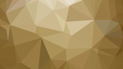 Abstract Gold Polygonal Triangular Background