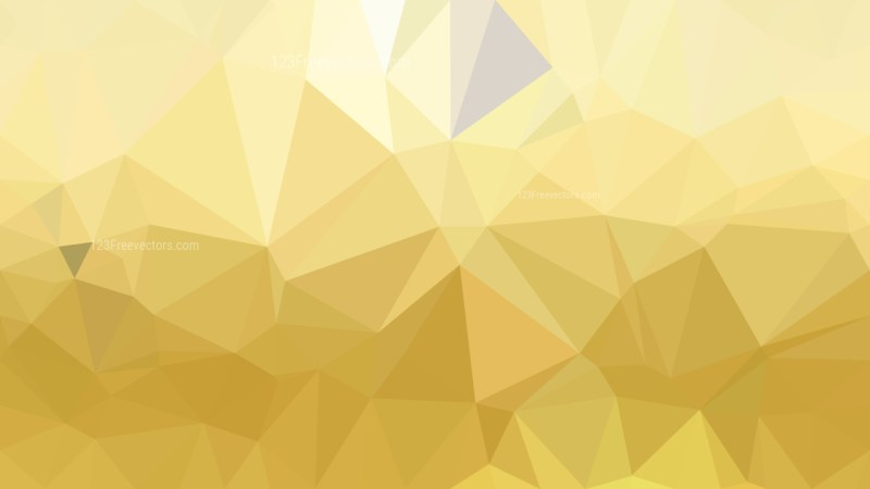 Gold Polygon Background Template Design
