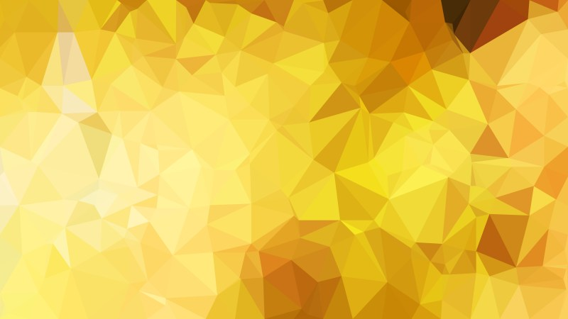 Abstract Gold Polygon Pattern Background Illustration