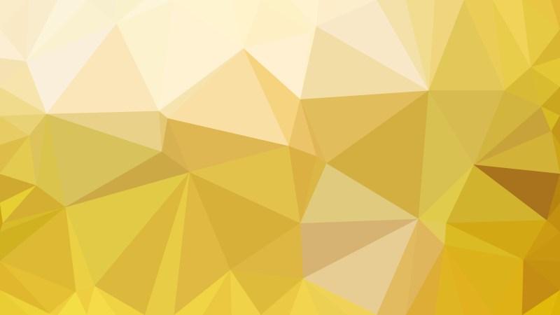 Gold Polygon Background Graphic Design Illustration