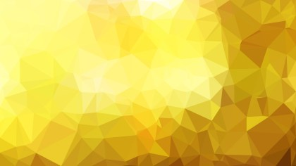 Gold Polygonal Abstract Background Design Vector Art
