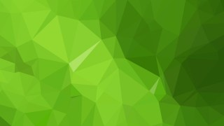 Green Polygon Triangle Background