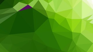 Abstract Green Low Poly Background Template