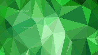 Green Low Poly Background Illustration