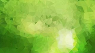 Green Polygonal Background Image